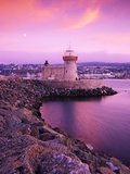 Howth Pier Lighthouse Photographic Print by Richard Cummins