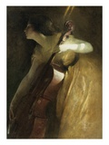 A Ray of Sunlight (The Cellist) Giclee Print by John White Alexander