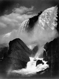 Niagara Falls from the Cave of the Winds Photographic Print
