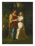 Rosalind and Orlando Reproduction proc&#233;d&#233; gicl&#233;e par John Faed
