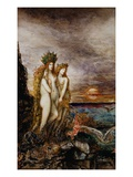 The Sirens Giclee Print by Gustave Moreau