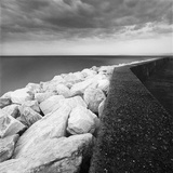 Marble Breakwater Photographic Print by Chip Forelli