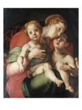 Madonna and Child with the Young St. John Giclee Print by  Pontormo