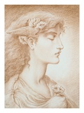 Sleep Giclee Print by Simeon Solomon