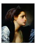 Head of a Woman Giclee Print by Jean-Baptiste Greuze
