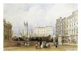 St. Savior's Church, Southwark, London Premium Giclee Print by George Sidney Shepherd