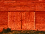 Detail of a Red Barn Photographic Print by Stuart Westmorland