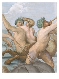 Detail of Centaur, Triton and Sea Nymph from Galatea Giclee Print by  Raphael