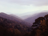 Smoky Mountains in the Mist Photographic Print by Rick Barrentine