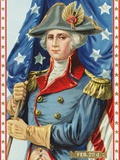 Postcard Commemorating Washington's Birthday Photographic Print