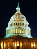 U.S. Capitol at Night Photographic Print by Joseph Sohm