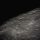 Craters on the Limb of the Moon Photographic Print