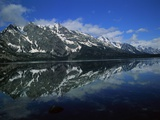 Mountain Reflection at Jenny Lake Photographic Print by Robert Marien