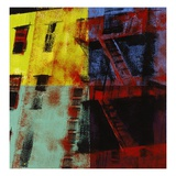 Multicolored Escapes Giclee Print by Patti Mollica