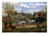 The Meet Giclee Print by Henry Thomas Alken