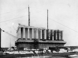 Construction of the Lincoln Memorial Photographic Print