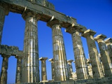 Greek Temple Ruins Photographic Print by Macduff Everton