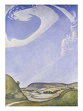 The Sympathy of the Land and Sky Giclee Print by Edward Reginald Frampton