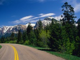 Road Through Glacier National Park Fotografie-Druck von Mick Roessler