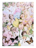 A Garden of Babies Giclee Print by Fanny Cory