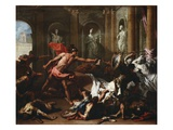Perseus with the Head of Medusa Giclee Print by Sebastiano Ricci