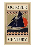 October Century Premium Giclee Print by H.m. Lawrence