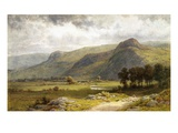 A View of Borrowdale, England Giclee Print by Samuel Henry Baker