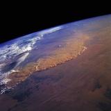 Dust Storm in the Sahara Desert Photographic Print