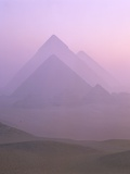 Pyramids of Giza Photographic Print by Paul Hardy