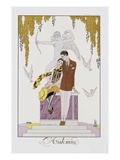 L'Automne Photographic Print by Georges Barbier