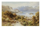 A View of the Isola Bella Premium Giclee Print by Harry Sutton Palmer