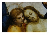 Detail of Jesus and Saint Nicodemus from Pieta Giclee Print by  Raphael