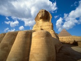 Base of the Great Sphinx Photographie par Jim Zuckerman