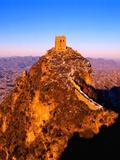 Tower at Great Wall of China Photographic Print by Liu Liqun