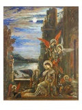 Saint Cecilia Giclee Print by Gustave Moreau