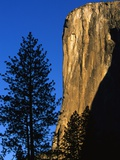 Sunlight Shining on El Capitan Photographic Print by Paul Souders