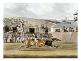 Derby Day at Epsom Giclee Print by R. Reeves