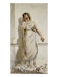A Classical Beauty Giclee Print by Alcide Theophile Robaudi