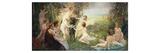 The Rape of Europa Giclée-Druck von Edouard Veith
