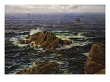 Land's End, Cornwall, England Giclee Print by John Brett