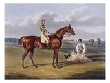 Aquatint by Thomas Sutherland After Barefoot, Winner 1823 Giclee Print by John Frederick Herring I