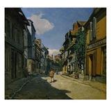 Rue de la Bavolle, Honfleur Giclee Print by Claude Monet