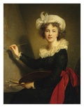 Self-Portrait Giclee Print by Elisabeth Louise Vigee-LeBrun