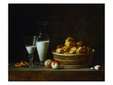 The Little Breakfast Giclee Print by Henri Roland De La Porte