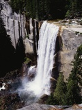 View from the Top of Vernal Falls Photographic Print by Gerald French