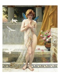 Hesitation of Psyche Giclee Print by Guillaume Seignac