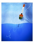 Floater and Hook in Water Giclee Print by Matthias Kulka