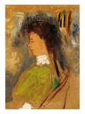 Violette Heymann Giclee Print by Odilon Redon