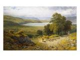 Llandudno Junction, North Wales Gicléedruk van Samuel Henry Baker
