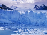 Moreno Glacier and Lago Argentino Photographic Print by Theo Allofs